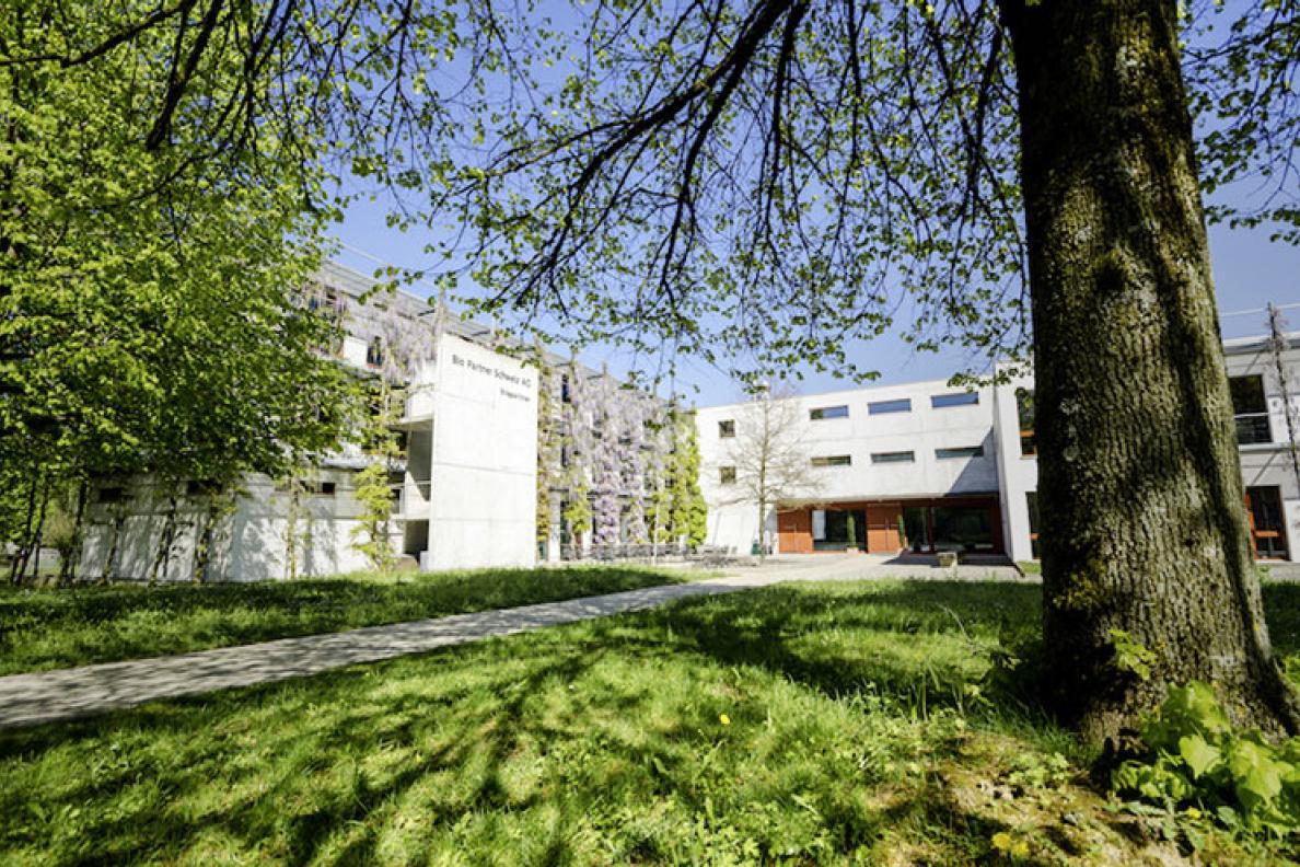 Umbau Biopartner Schweiz AG, Seon