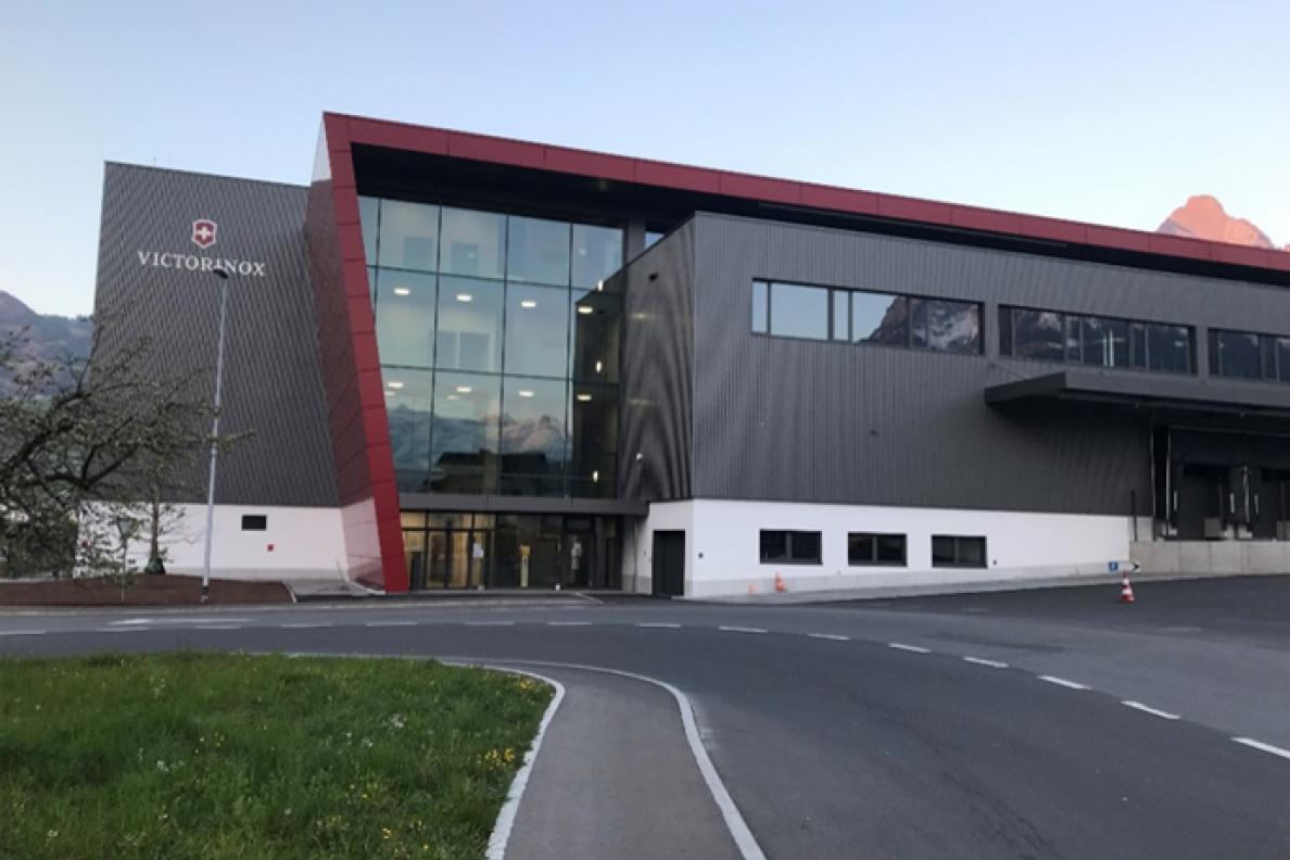 Victorinox Europa Distributions Center Seewen / Schwyz