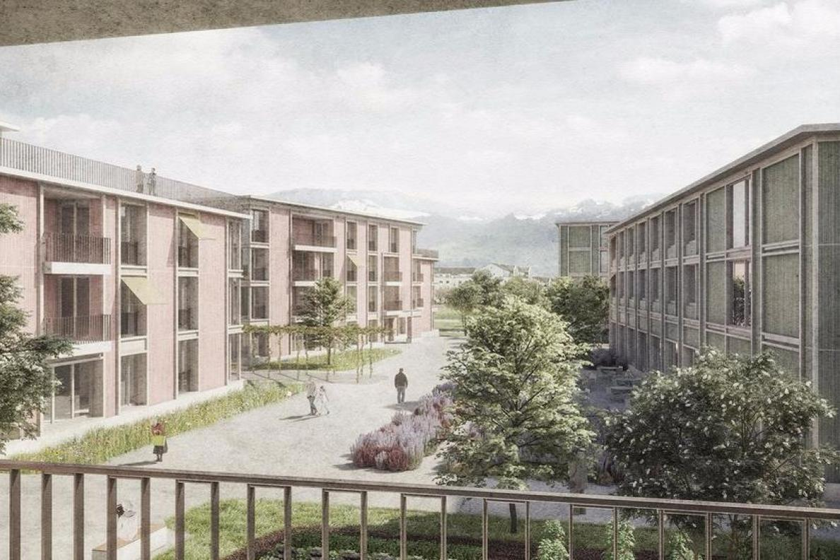 Zentrum Schachen – Neubau Pflegezentrum, Rapperswil-Jona